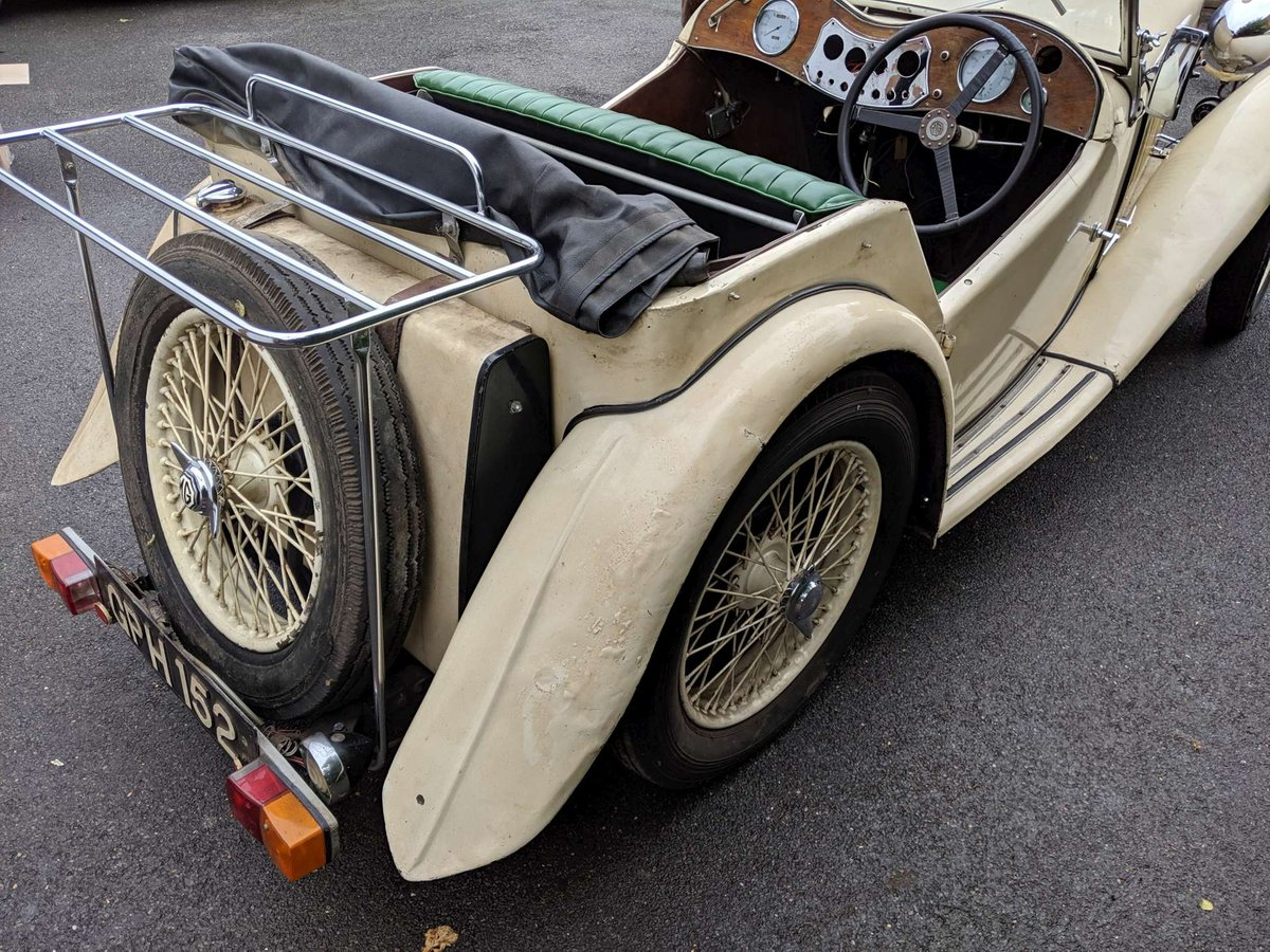 1938 MG TA Restoration Project UK Car V5 SOLD (picture 3 of 6)