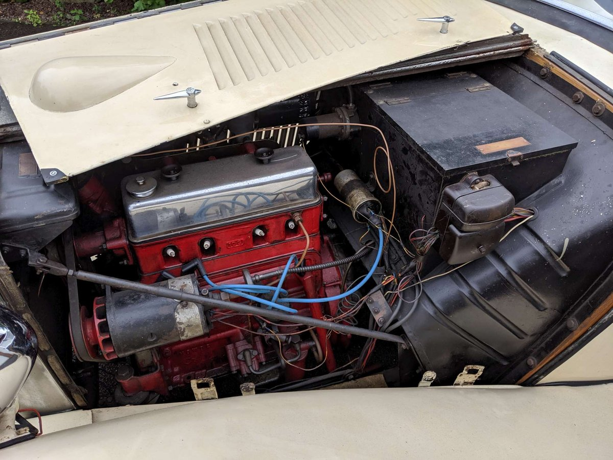 1938 MG TA Restoration Project UK Car V5 SOLD (picture 5 of 6)