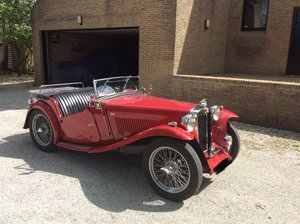 1946 Rare MG tc For Sale