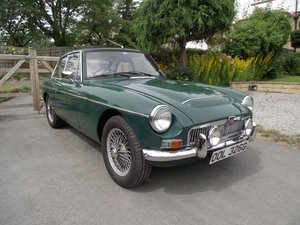 1968 MG C GT For Sale by Auction