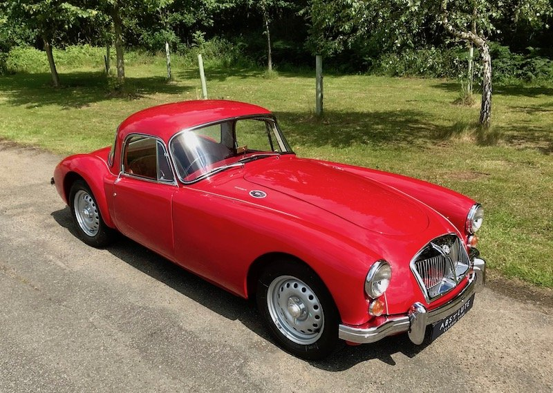 1962 MGA MKII 1600 Deluxe Coupe 1 of 23 built, the ultimate MGA For Sale (picture 1 of 6)