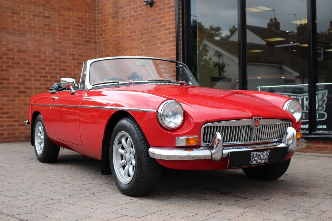 1966 MGB Roadster - Restored - Power Steering For Sale (picture 1 of 6)