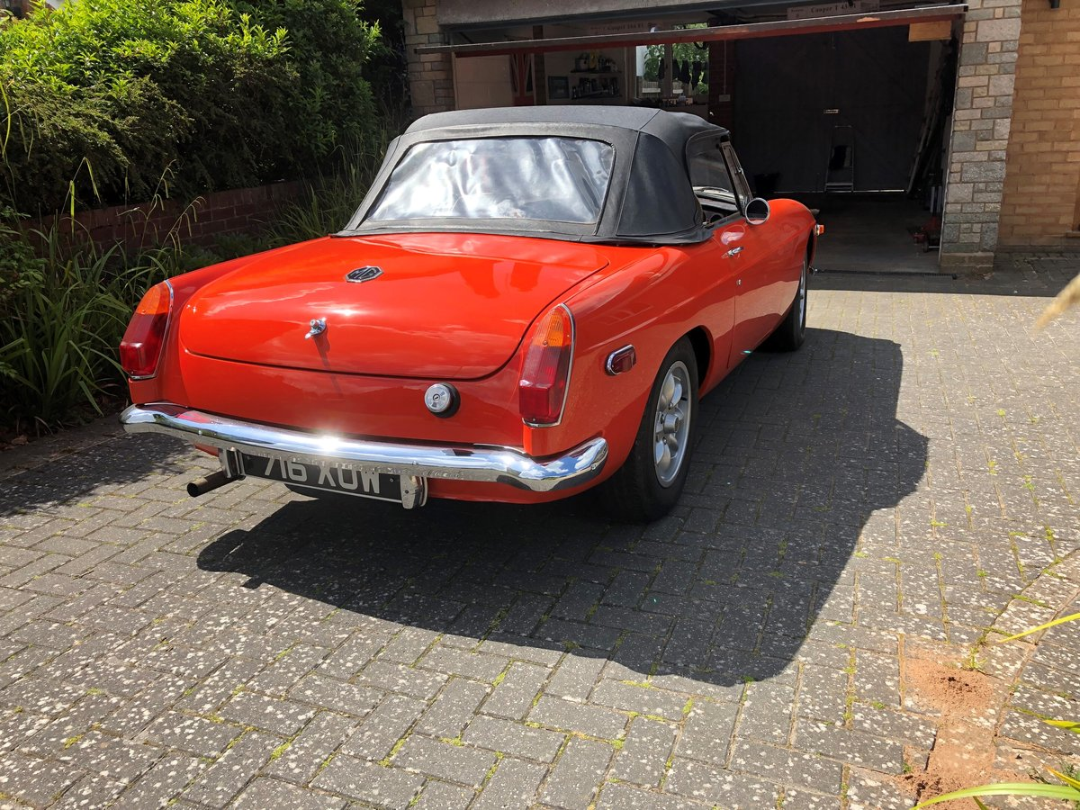 1977 excellent mgb roadster For Sale (picture 4 of 5)