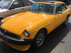 1976 MG BGT 1.8 - Manual - with webasto roof  For Sale