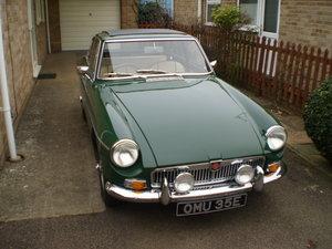 MGBGT 1967 For Sale