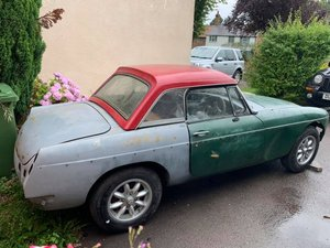 1977 MGB Roadster excellent body, needs finishing For Sale