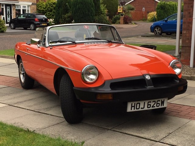 Exceptional 1981 MGB Roadster Manual with O/D For Sale (picture 1 of 6)