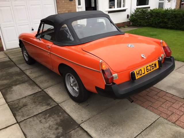 Exceptional 1981 MGB Roadster Manual with O/D For Sale (picture 2 of 6)