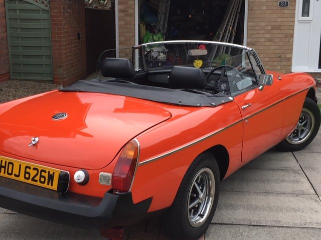Exceptional 1981 MGB Roadster Manual with O/D For Sale (picture 4 of 6)