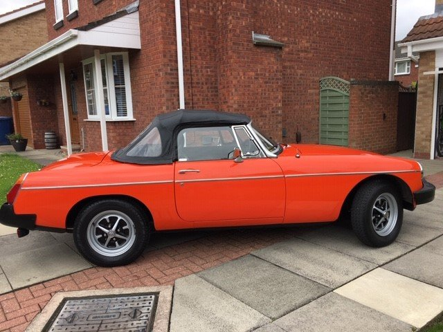 Exceptional 1981 MGB Roadster Manual with O/D For Sale (picture 6 of 6)