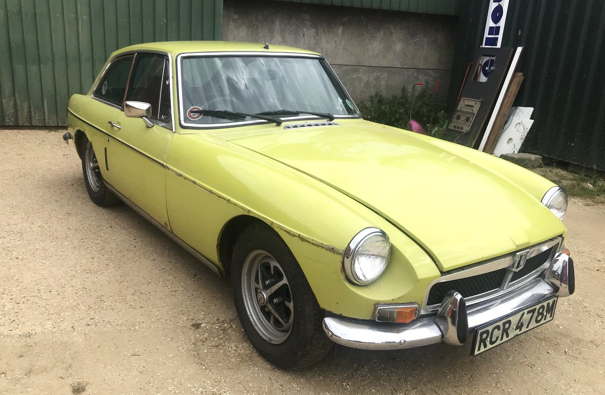 1974 - MGB GT - Overdrive - 27,000 Miles For Sale (picture 2 of 6)