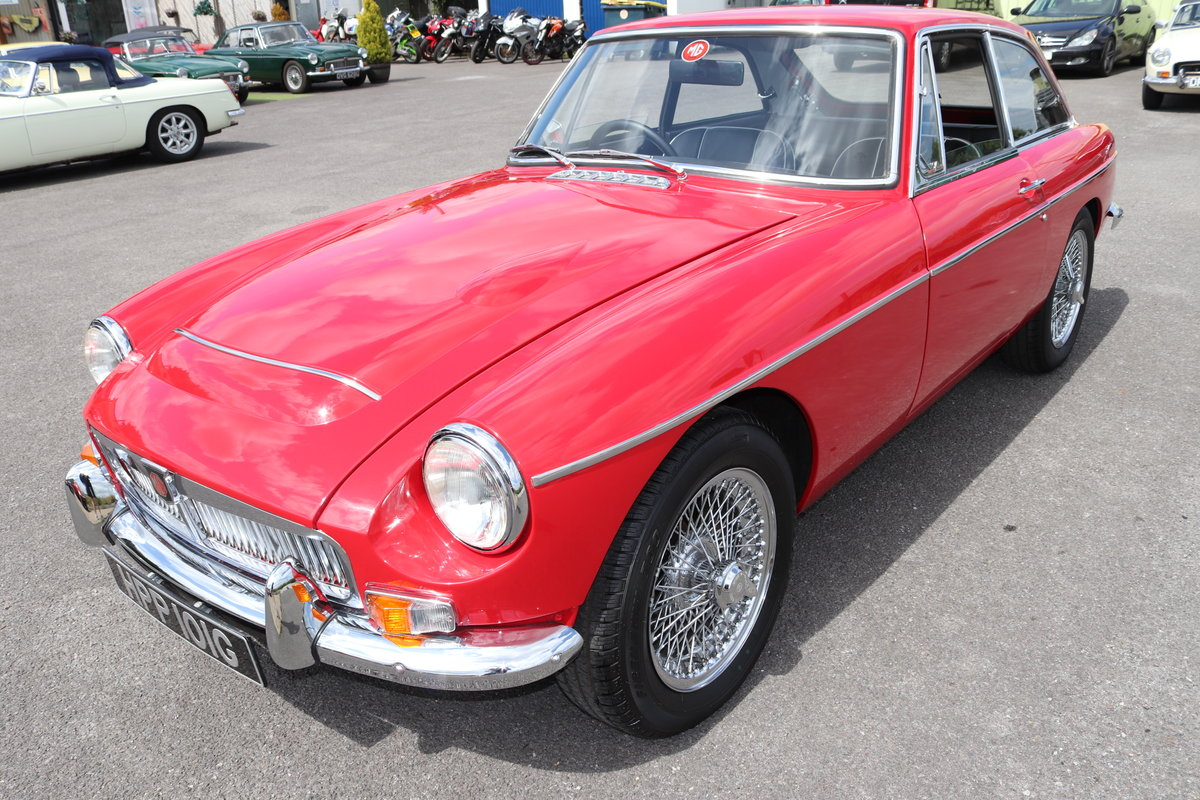 1969 MGC GT in Tartan Red, finest on the market SOLD (picture 1 of 6)