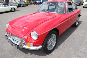 1969 MGC GT in Tartan Red, finest on the market For Sale