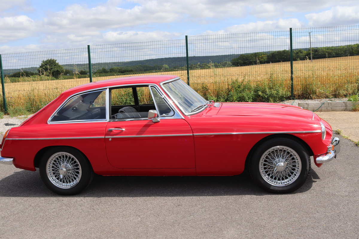 1969 MGC GT in Tartan Red, finest on the market SOLD (picture 5 of 6)