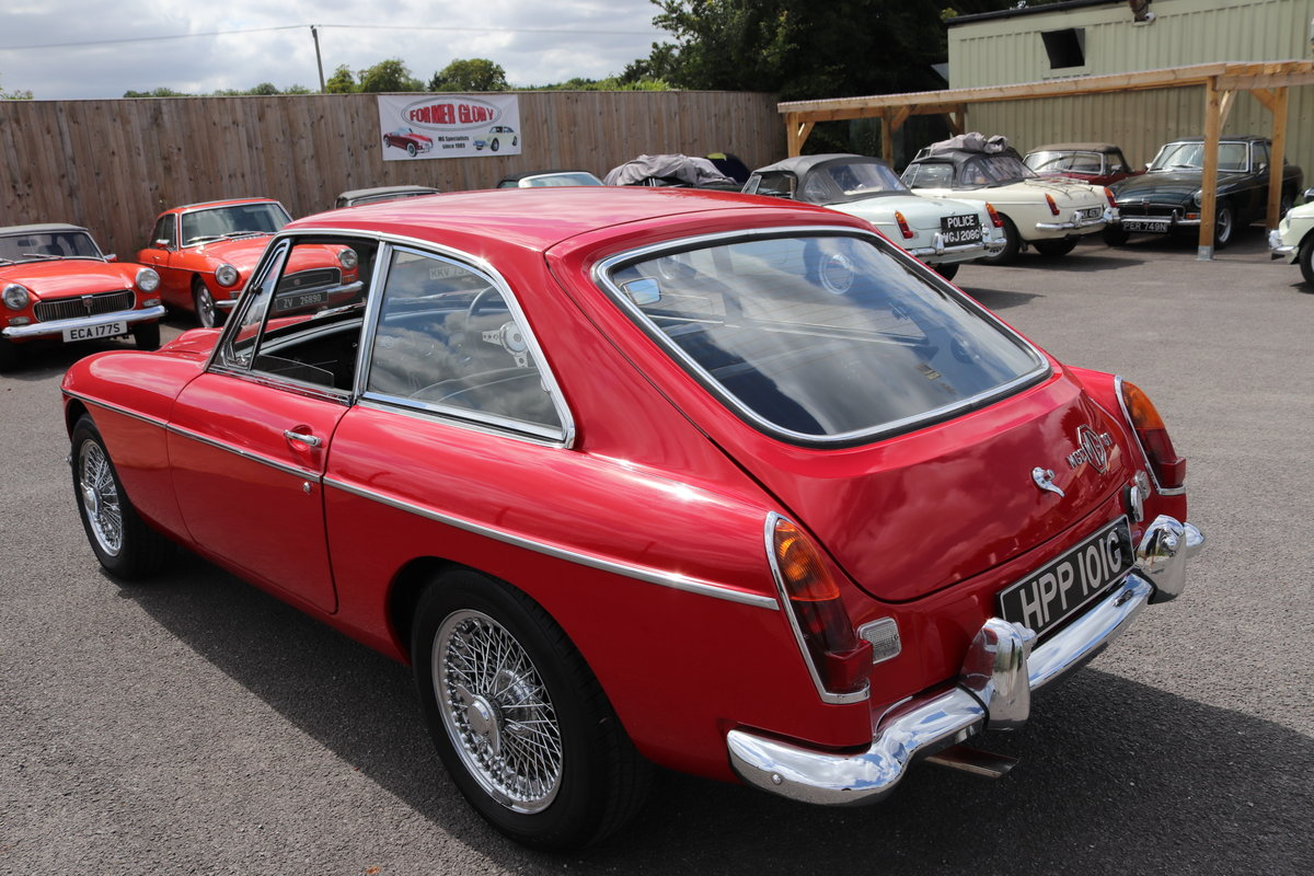 1969 MGC GT in Tartan Red, finest on the market SOLD (picture 6 of 6)