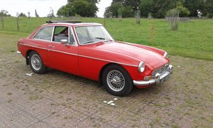 1970 mgbgt in Tartan Red For Sale