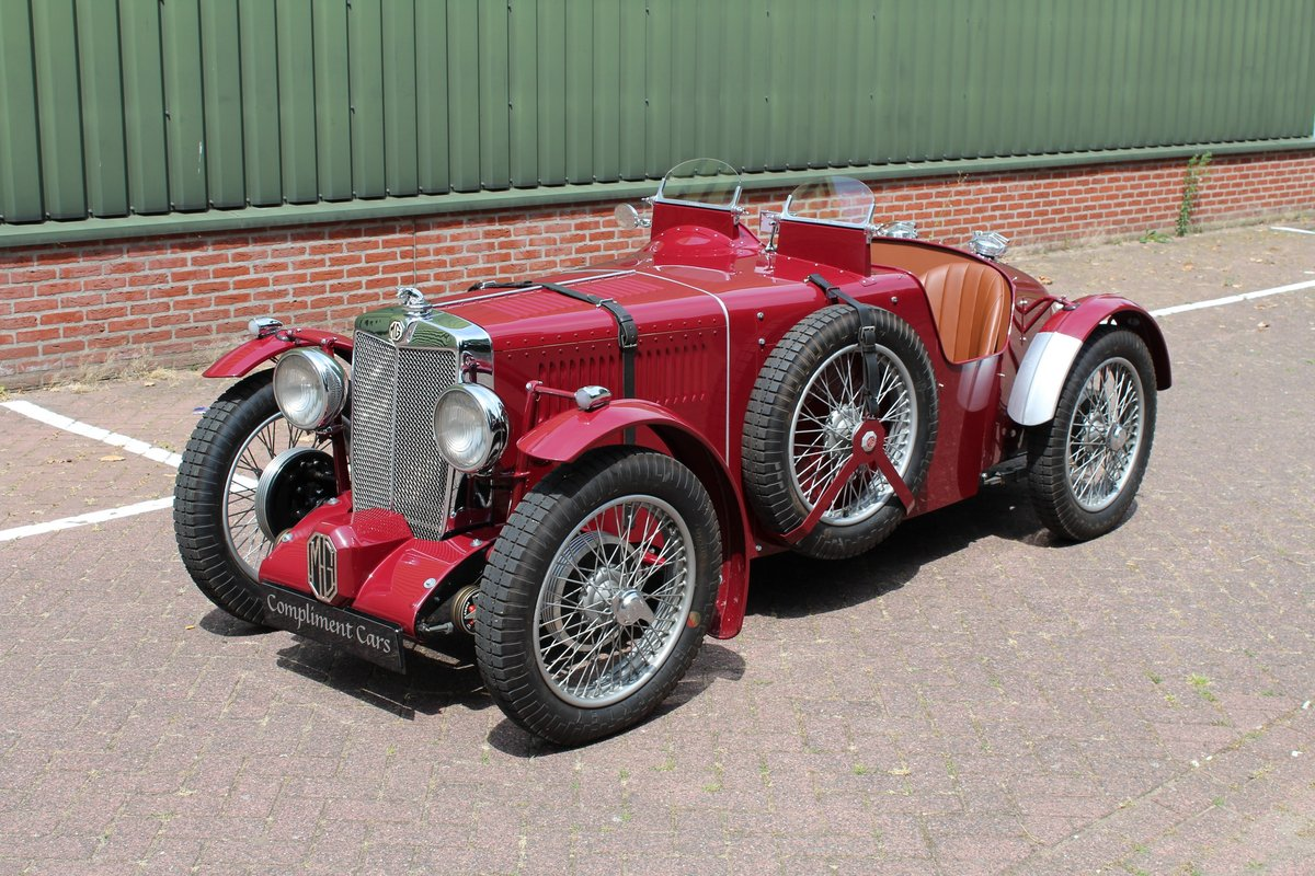 MG TA 1937 Q -type Racer € 82.900 For Sale (picture 6 of 6)