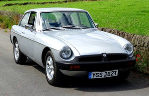 MGB GT, 1978, 1800cc, 4 SPEED MANUAL OD, DRIVES EXCELLENT. For Sale