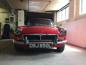 1972 MGB GT – Great Condition and History SOLD