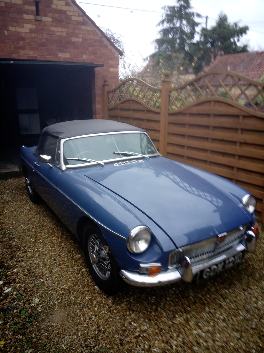 1966 Blue MG Roadster Mk1 For Sale (picture 1 of 1)