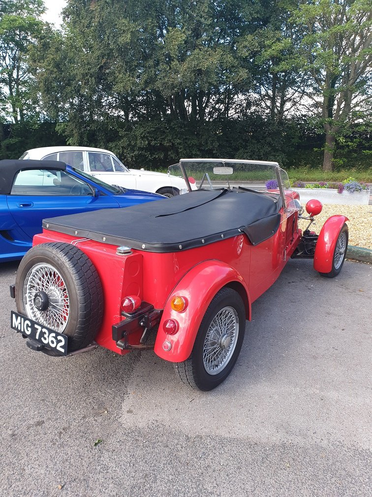1971 MG  SPECIAL ROADSTER For Sale (picture 2 of 4)