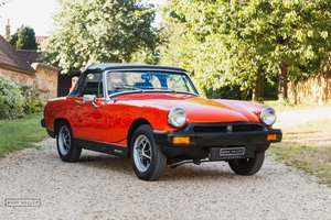 1981 1979 MG Midget 1500 Super Low Mileage - 2900 Miles  SOLD