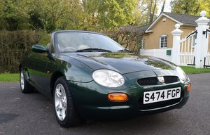 1998 1999 MGF 1.8 VVC - Very Low Mileage SOLD