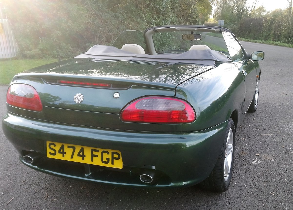 1998 1999 MGF 1.8 VVC - Very Low Mileage SOLD (picture 3 of 6)