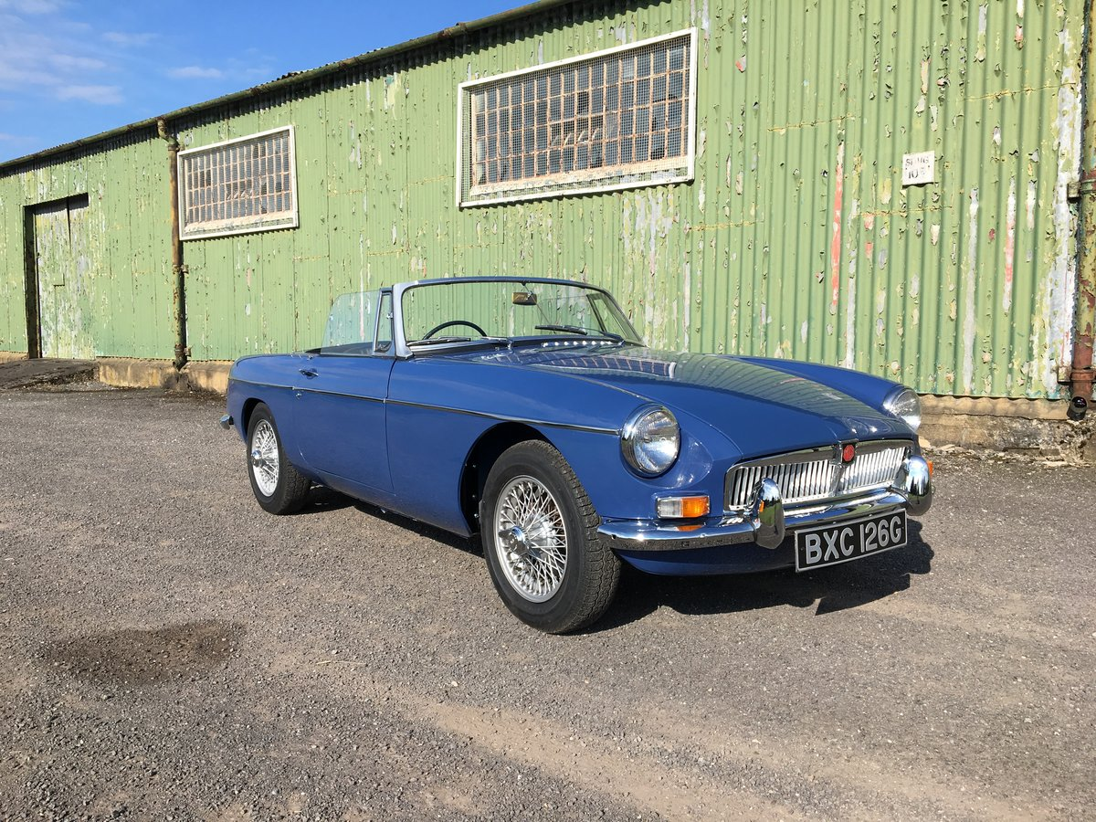 1968 MGB roadster For Sale | Car And Classic