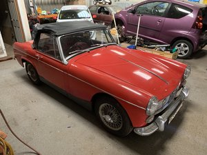 1965 MG Midget only 2 owners 45k miles For Sale