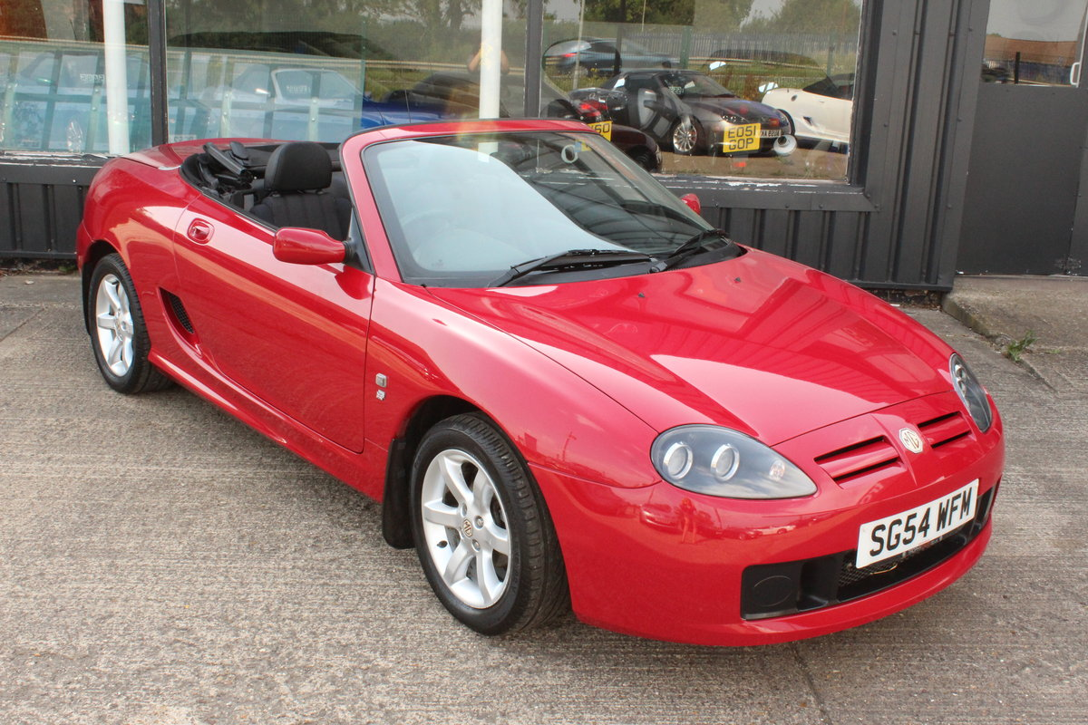 2004 MG TF 135,ONLY 24000 MILES,NEW HEADGASKET,BELT & PUMP For Sale (picture 1 of 5)