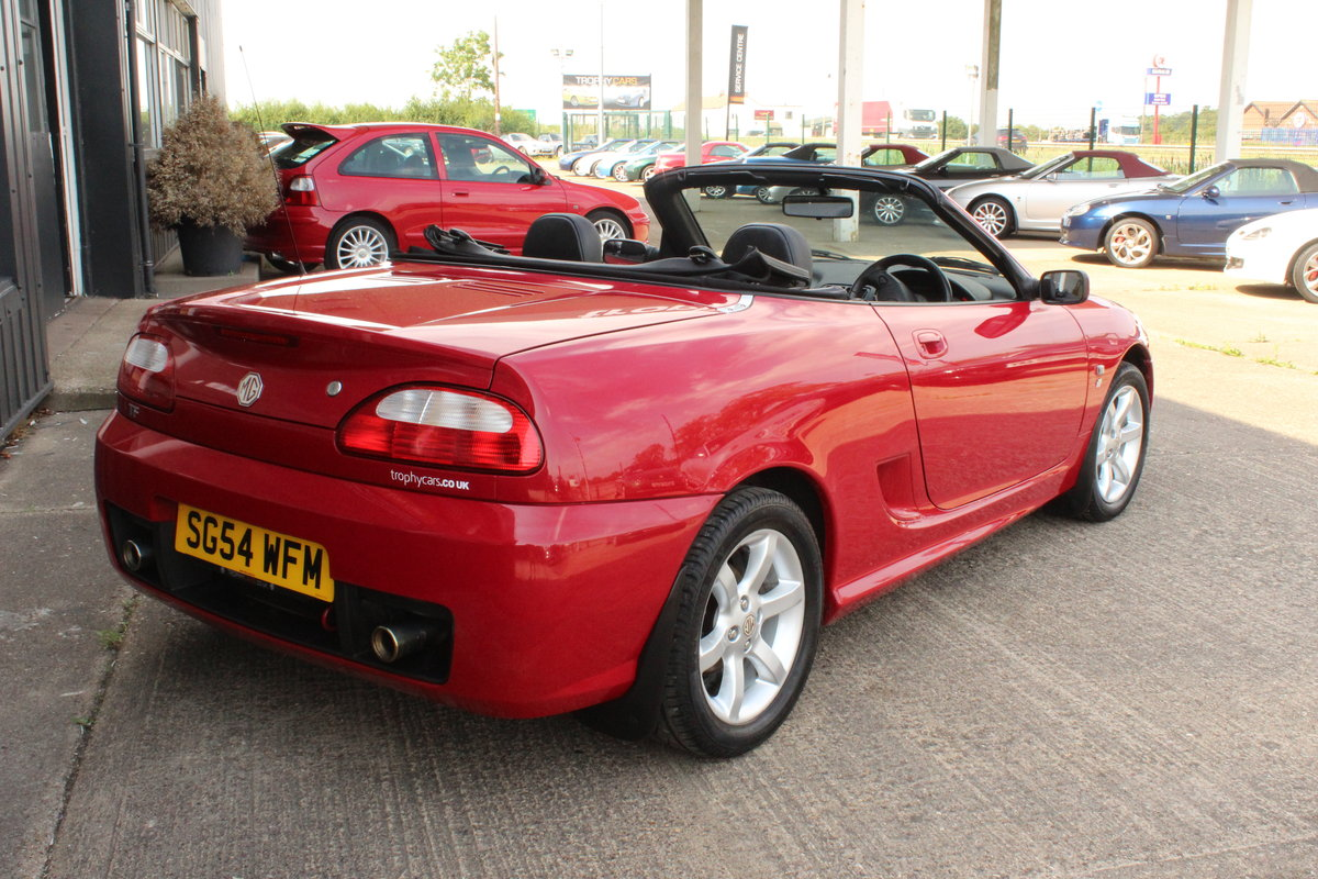 2004 MG TF 135,ONLY 24000 MILES,NEW HEADGASKET,BELT & PUMP For Sale (picture 5 of 5)