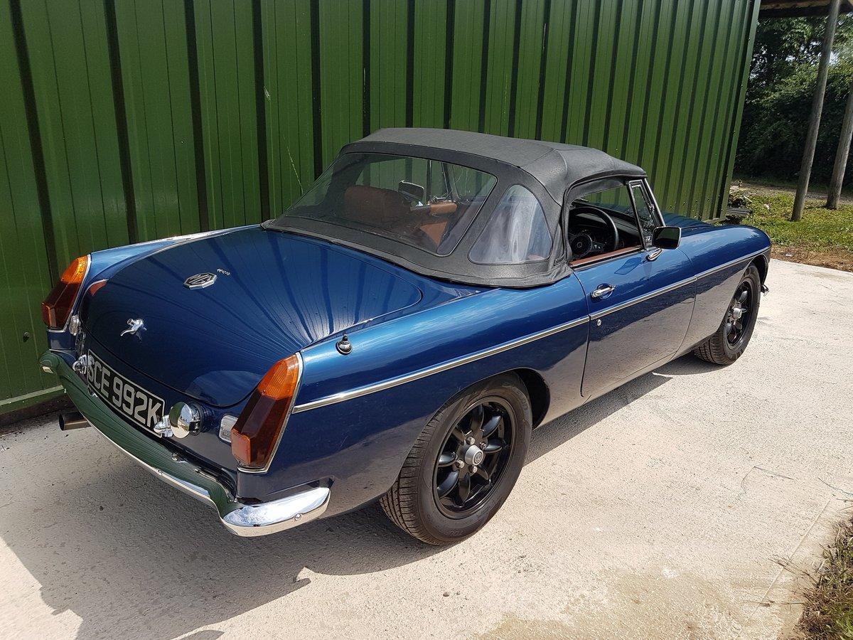 1971 MGB Roadster V8 SOLD (picture 3 of 6)