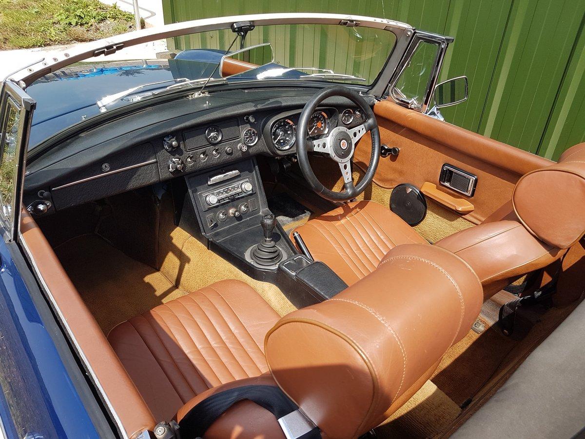 1971 MGB Roadster V8 SOLD (picture 6 of 6)