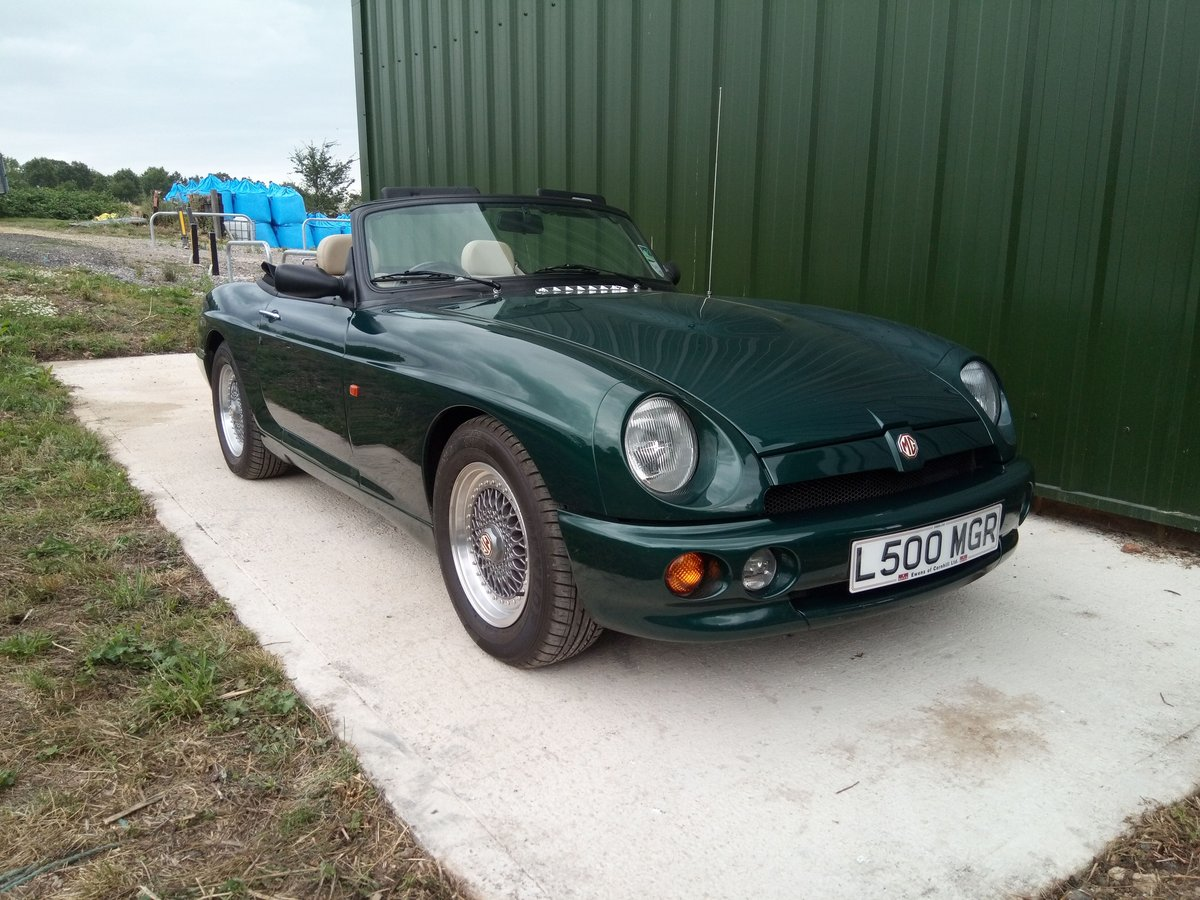 1994 MG RV8 rare UK car in superb condition SOLD (picture 1 of 6)