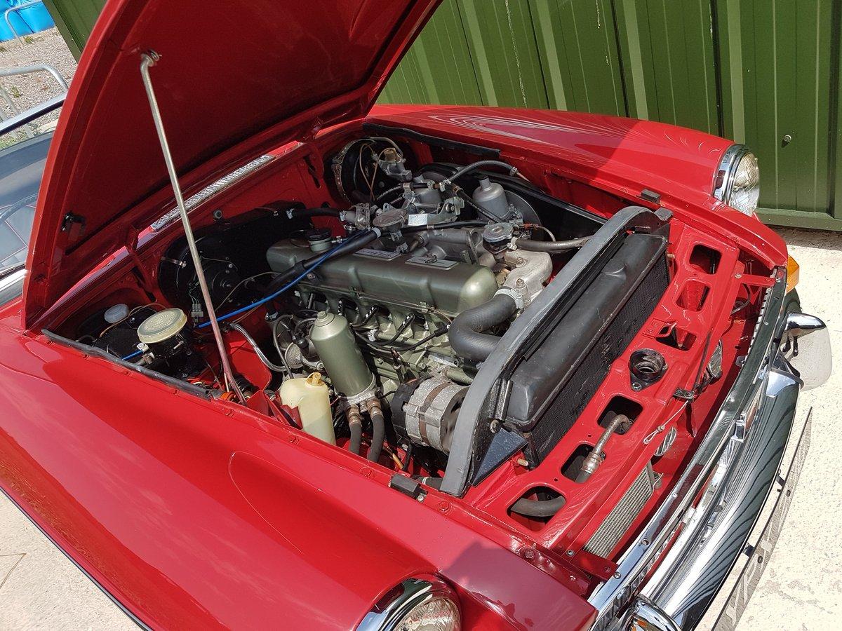 1969 MGC Roadster tartan red, black trim, restored, superb SOLD (picture 6 of 6)