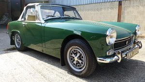 1970 Mike Authers Classics ltd offer a stunning MG Midget in BRG For Sale
