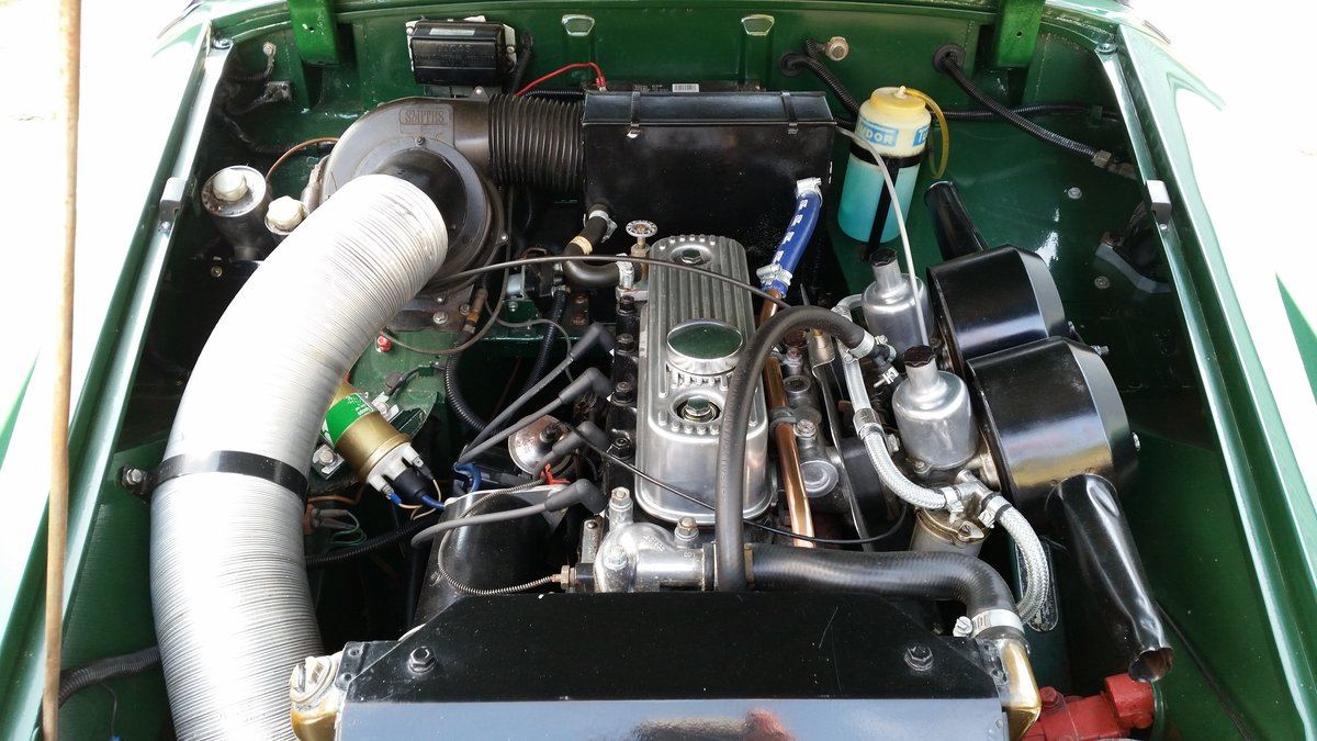 1970 Mike Authers Classics ltd offer a stunning MG Midget in BRG For Sale (picture 6 of 6)