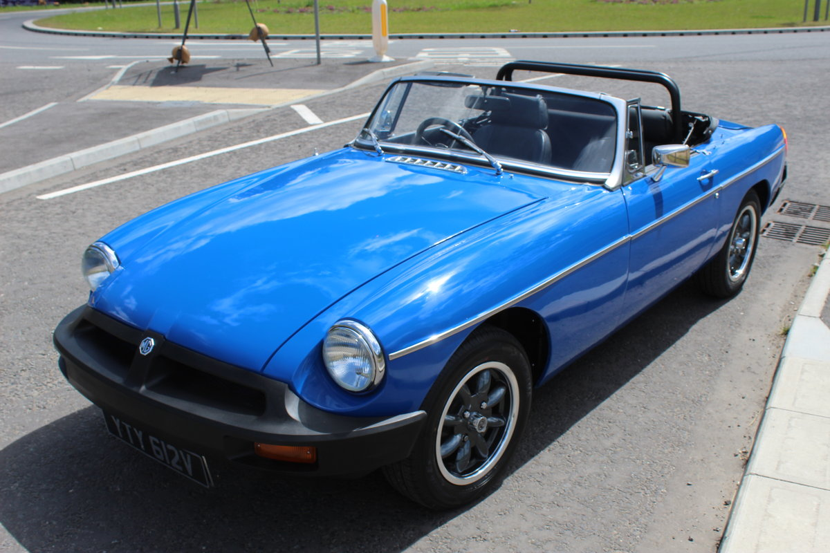 1977 MGB Roadster With Overdrive Beautiful Condition  SOLD (picture 2 of 6)
