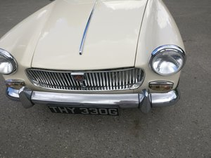 Mg midget 1275 in old english white  SOLD For Sale