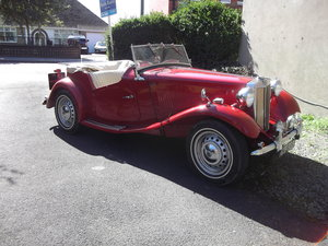 1953 MG TD  Investment Grade Classic Car. For Sale