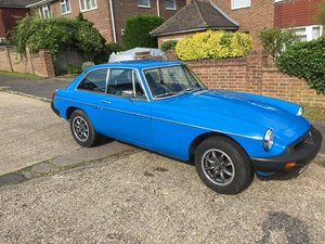 1978 Pageant Blue MGB GT, SOLD