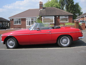 1969 MGB Roadster Tartan Red  For Sale
