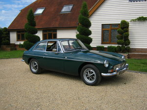 1967 MGB GT. MARK 1. 1ST YEAR OF THE 'GT'.  SOLD
