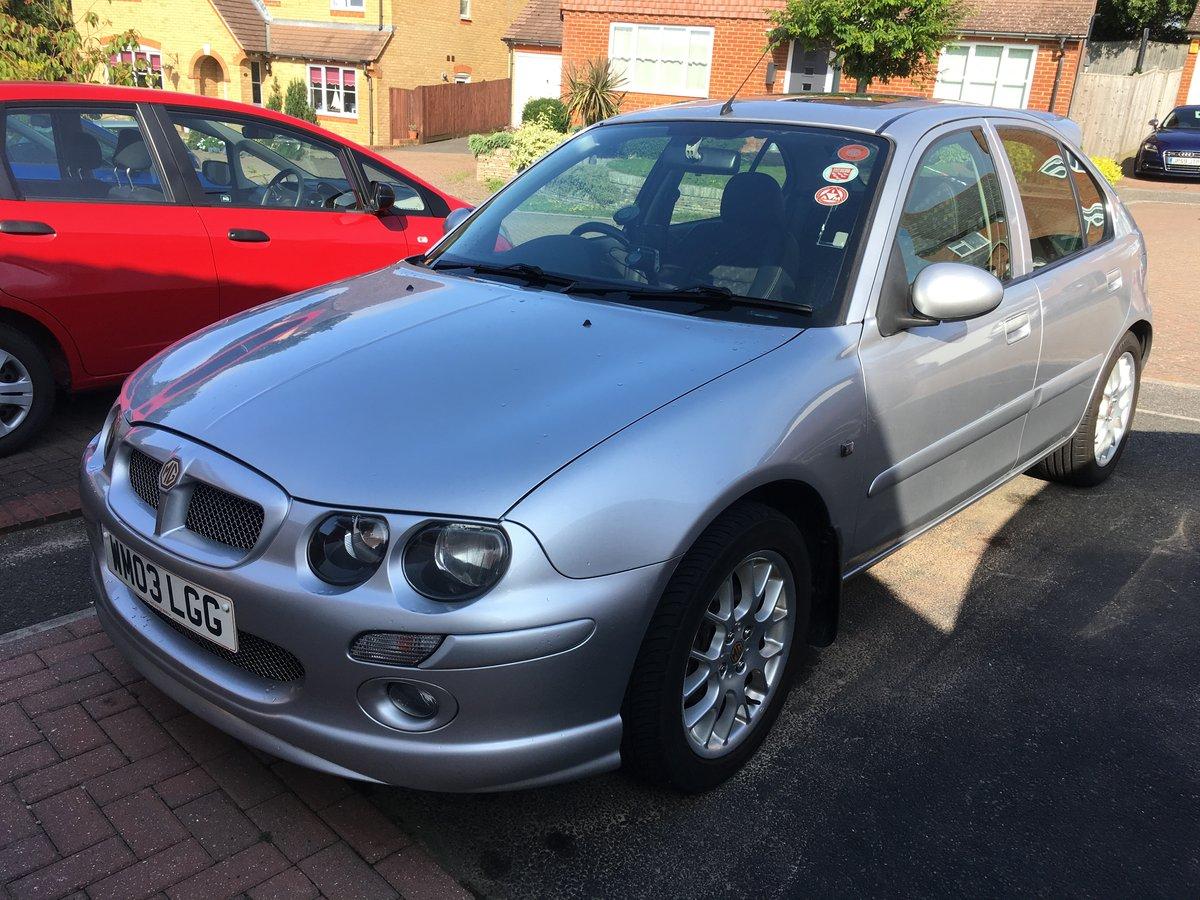 2003 Mg Zr+ 1.8 120 auto Rare  24000 miles genuine For Sale (picture 1 of 6)