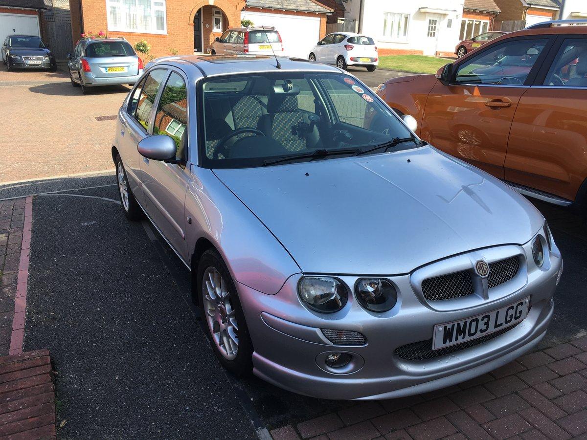 2003 Mg Zr+ 1.8 120 auto Rare  24000 miles genuine For Sale (picture 5 of 6)