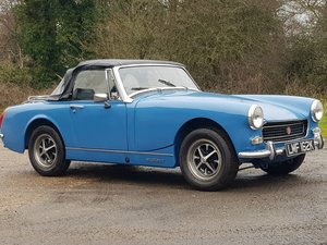 MG Midget 1275cc, 1972, RWA, Blue For Sale