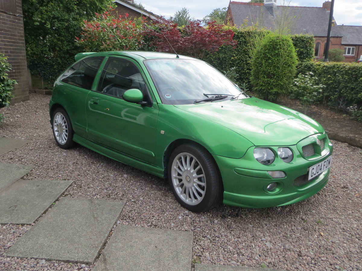 2004 MG ZR Rare Biomorphic Green Monogram SOLD (picture 1 of 6)