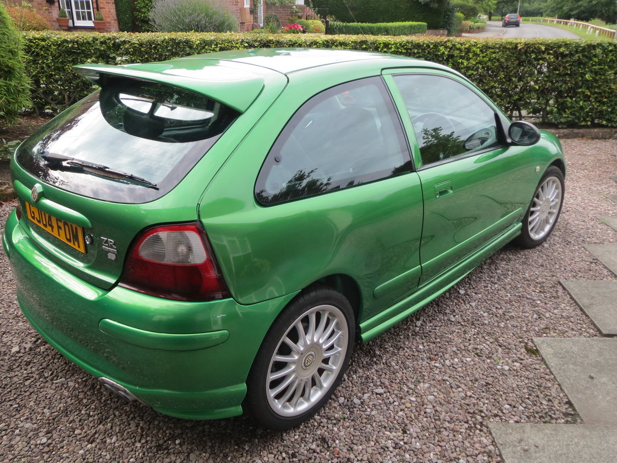 2004 MG ZR Rare Biomorphic Green Monogram SOLD (picture 3 of 6)