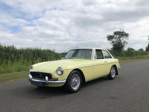 1971 MGB GT Manual with Overdrive SOLD